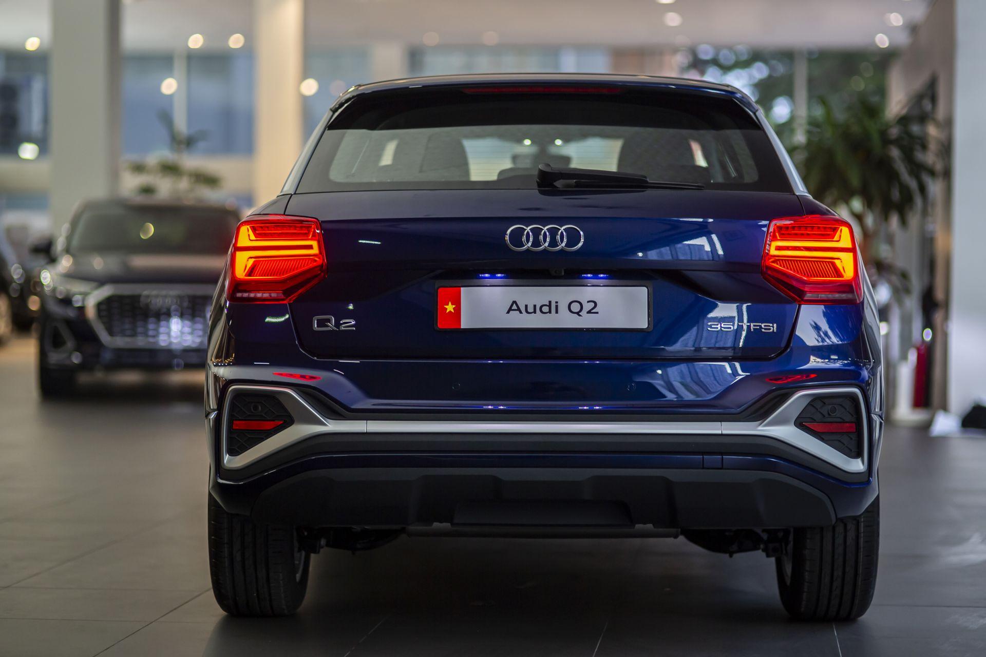 Audi Q2 cập bến thị trường Việt Nam: tinh chỉnh ngoại thất và trang bị-2
