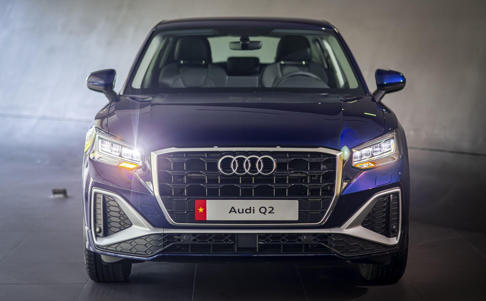 Audi Q2 cập bến thị trường Việt Nam: tinh chỉnh ngoại thất và trang bị-1
