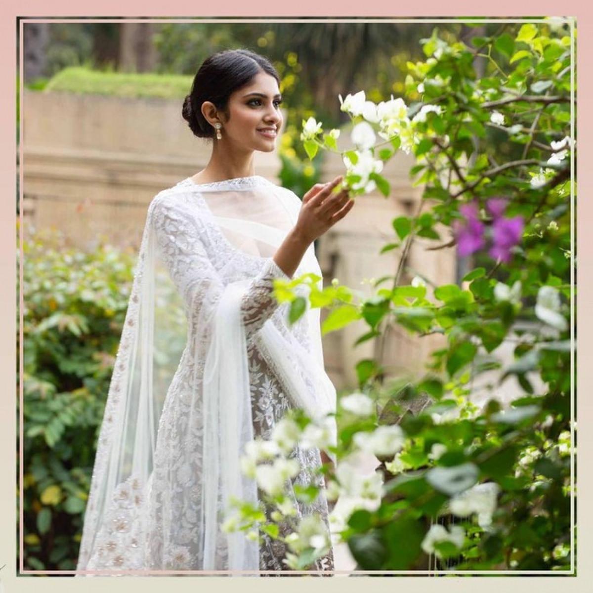 Vẻ đẹp thuần khiết của Tân Hoa hậu Ấn Độ - Đối thủ của Đỗ Thị Hà tại Miss World 2021-5