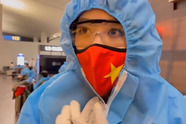 Khánh Vân đi cách ly 21 ngày khi từ Mỹ về Hà Nội-2