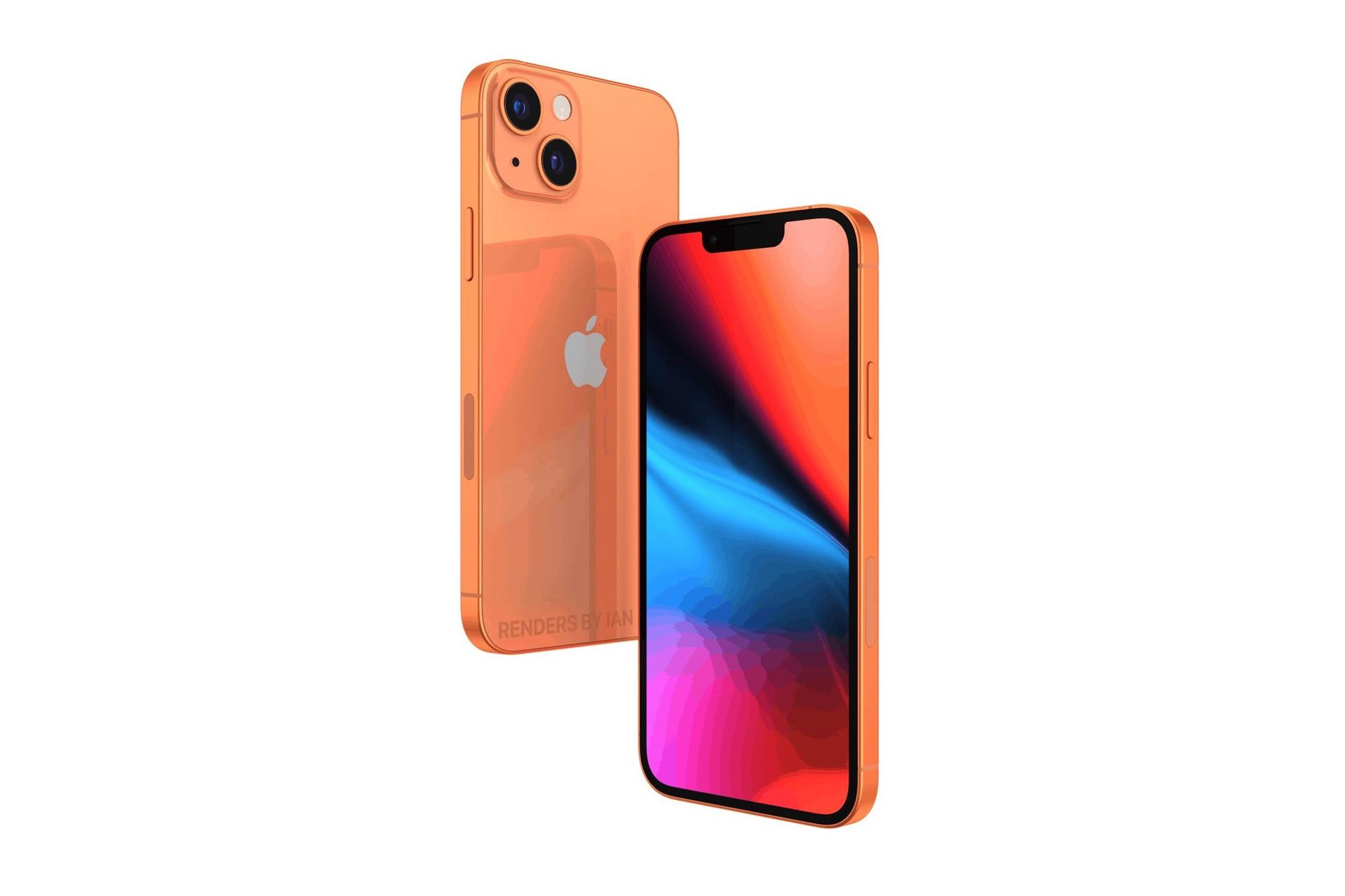 iPhone 13 sẽ có màu cam đồng?-1
