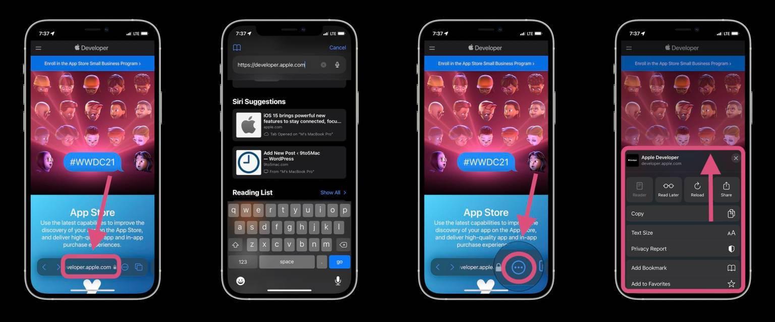 Hướng dẫn sử dụng Safari trên iOS 15