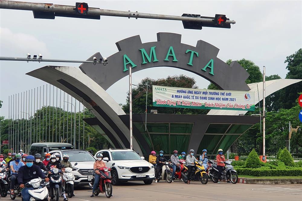 Đồng Nai: F1 trong khu công nghiệp Amata âm tính, hơn 850 lao động trở lại làm việc-1