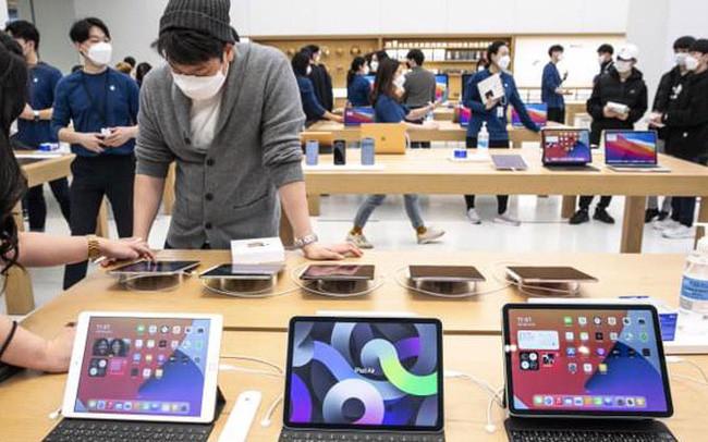 Vốn hoá của Apple có thể cán mốc 3 nghìn tỷ USD trong năm 2022-1
