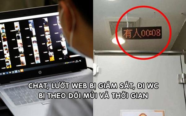 Nhân viên công nghệ Trung Quốc kiệt sức vì chat, duyệt web đều bị giám sát, đi WC lại bị theo dõi mùi và thời gian-1