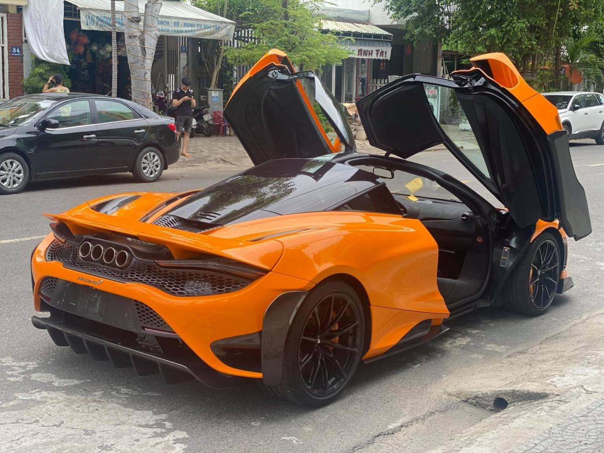 Siêu xe McLaren 765LT thứ tư cập bến Việt Nam-5
