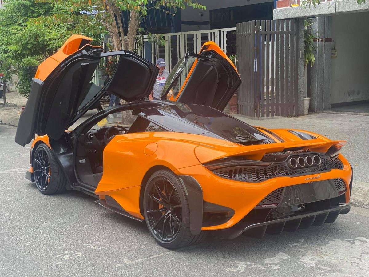 Siêu xe McLaren 765LT thứ tư cập bến Việt Nam-2