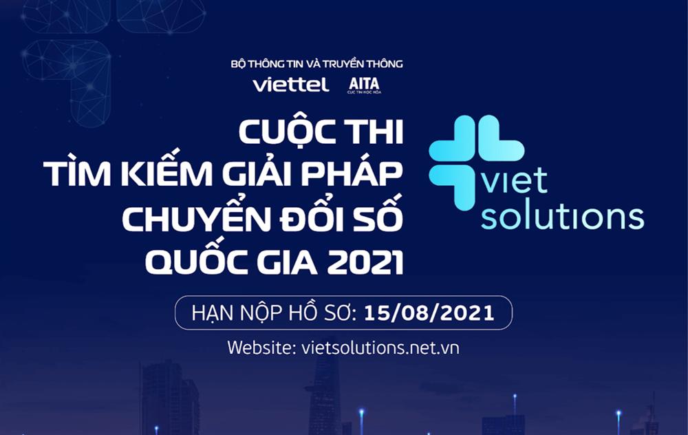 Bộ Thông tin và Truyền thông phát động giải thưởng chuyển đổi số quốc gia Viet Solutions 2021-1