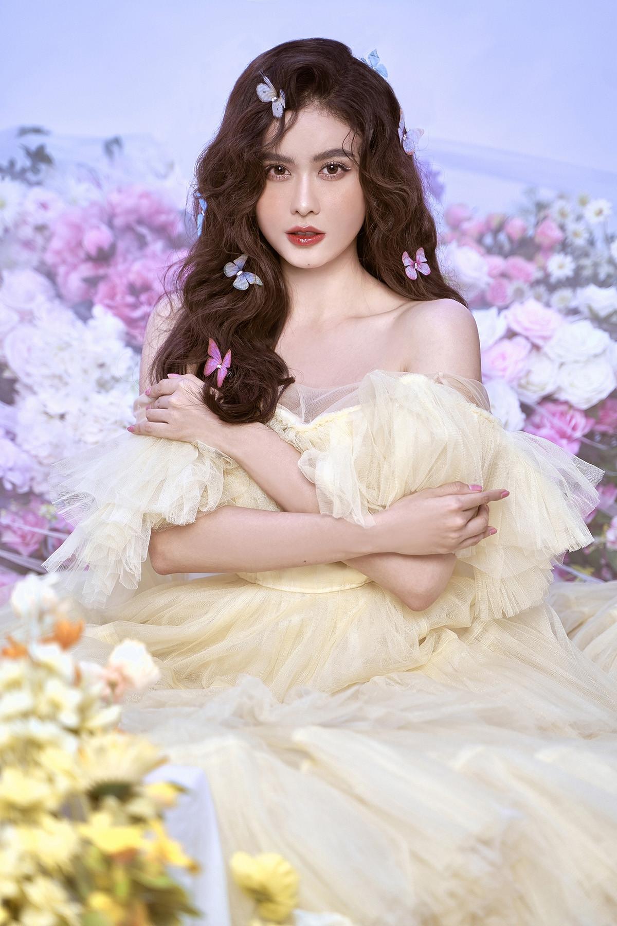 Trương Quỳnh Anh đẹp mong manh trong bộ ảnh mới-6