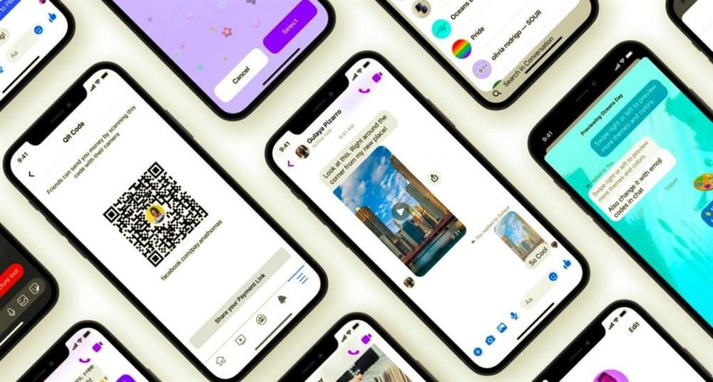 Facebook Messenger trên iPhone thêm chủ đề mới, thanh toán bằng mã QR và trả lời nhanh-1
