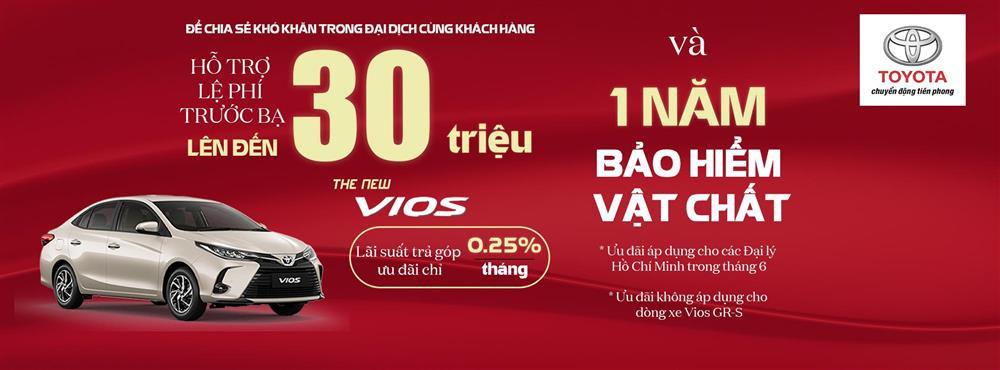 Sở hữu Toyota Vios 2021 trong tháng 6 với ưu đãi hơn 30 triệu đồng-1