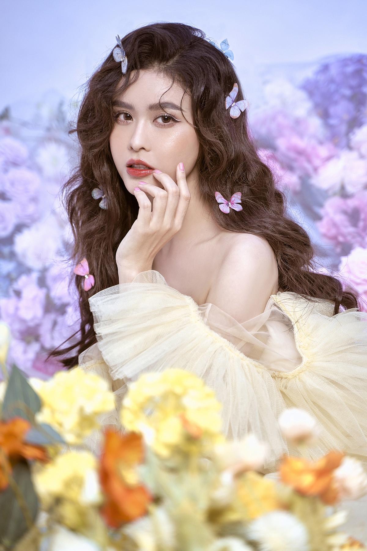 Trương Quỳnh Anh đẹp mong manh trong bộ ảnh mới-5