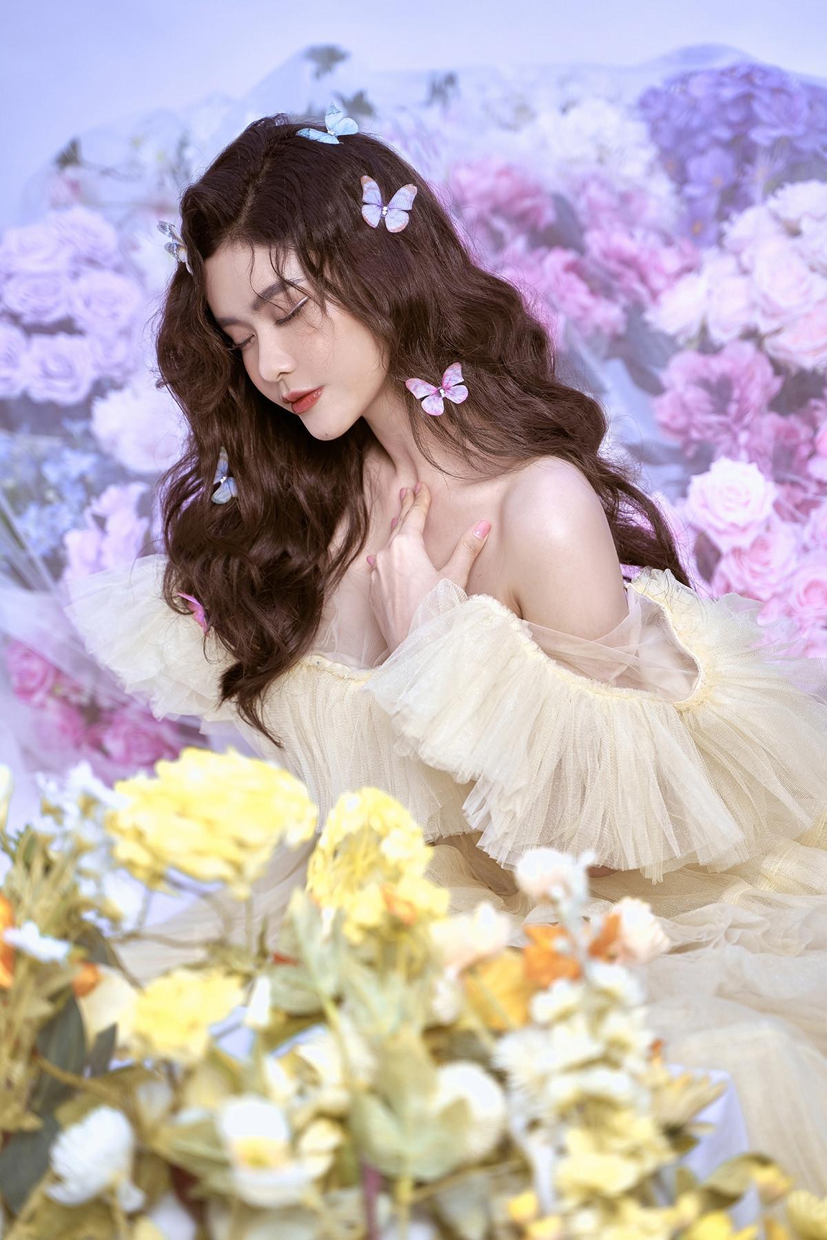 Trương Quỳnh Anh đẹp mong manh trong bộ ảnh mới-7