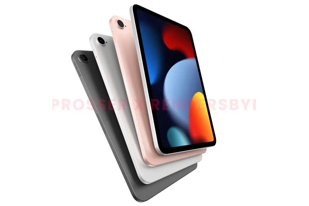 iPad mini 6 lộ diện với viền màn hình mỏng hơn, không có nút Home-1