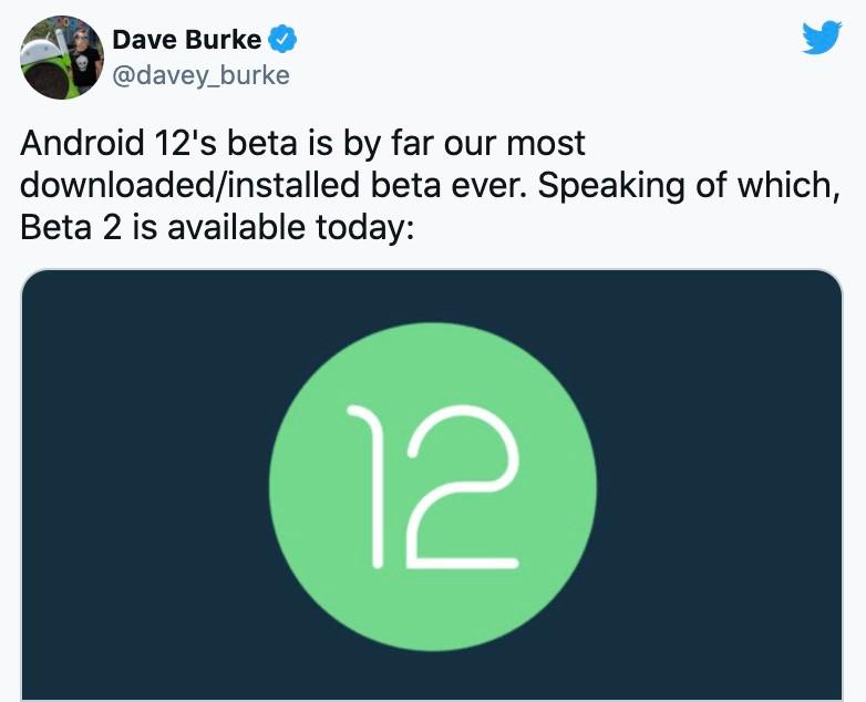 Dù chỉ mới ở bản beta, nhưng Android 12 đã phá vỡ kỷ lục cài đặt từ trước đến nay-1