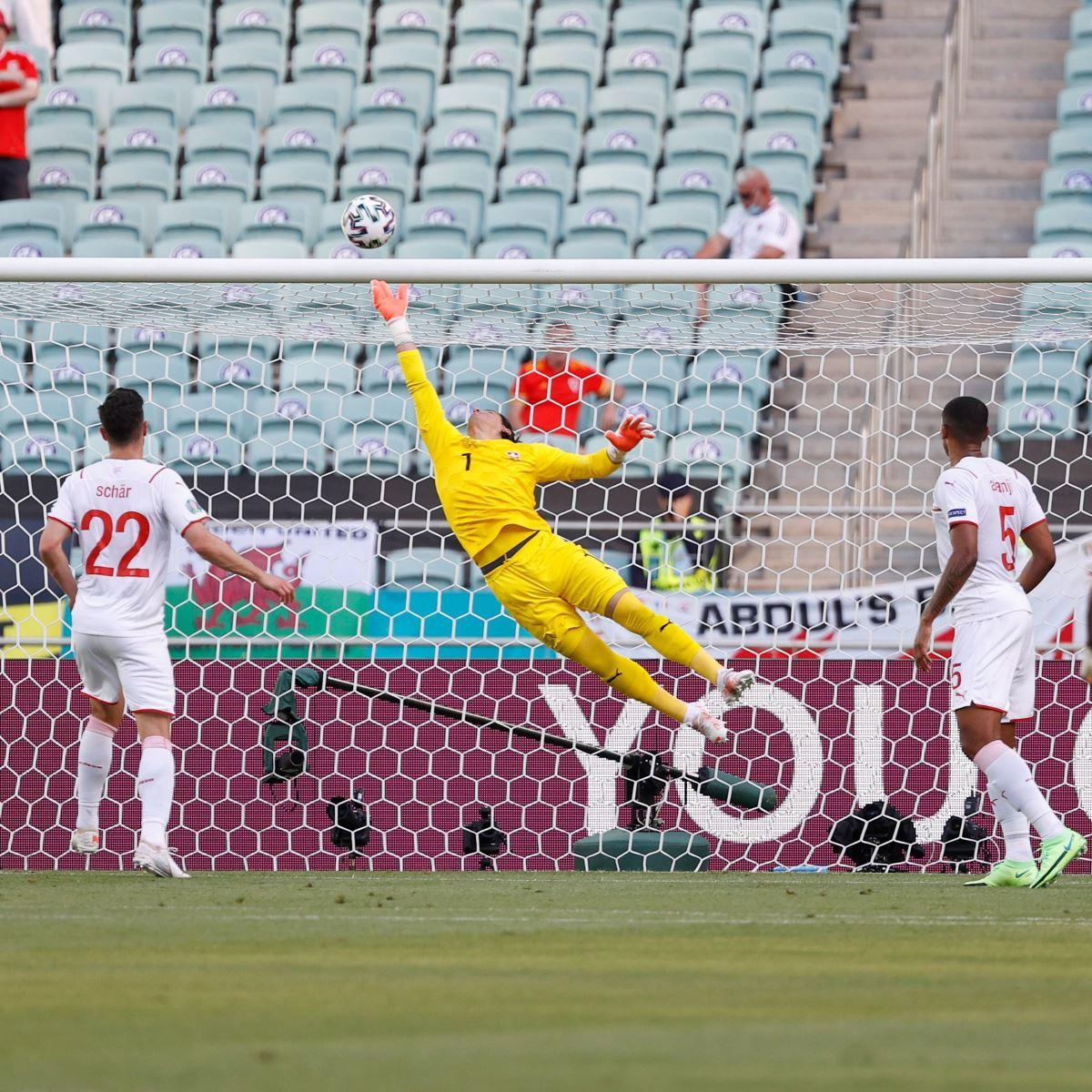 Xứ Wales 1-1 Thụy Sỹ: Bị VAR từ chối 1 bàn thắng, Thụy Sĩ ngậm ngùi chia điểm với xứ Wales-1