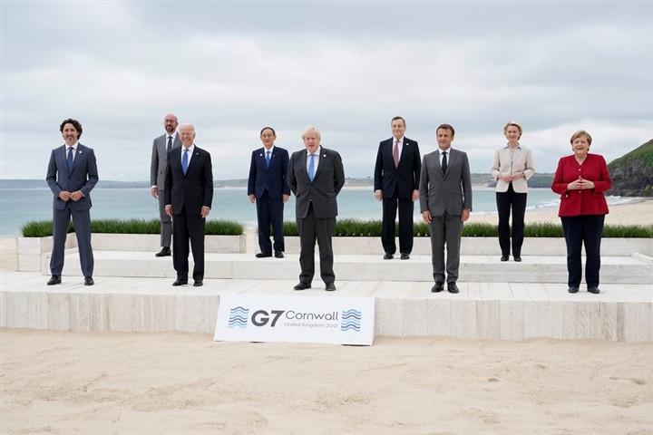 Nhóm G7 tung kế hoạch cạnh tranh với Vành đai, Con đường của Trung Quốc-1