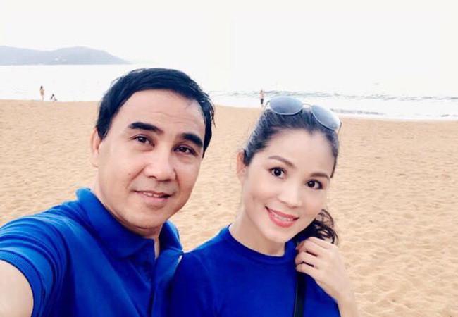 Bà xã doanh nhân U50 kín tiếng của MC Quyền Linh-1