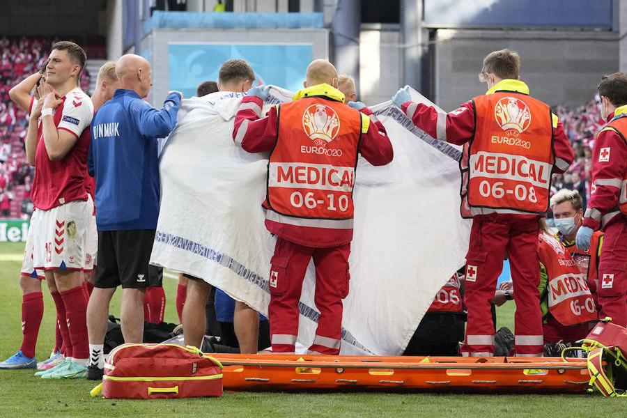 Trái tim dũng cảm Eriksen và vấn đề của UEFA-3