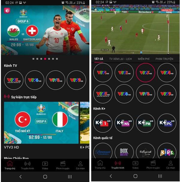 Cách xem trực tiếp các trận đấu tại Euro 2020 trên smartphone và máy tính-4