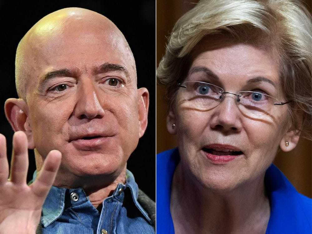'Jeff Bezos cười vào mặt tất cả những người Mỹ đóng thuế'-1