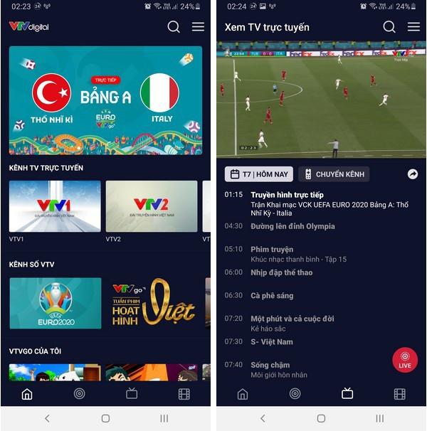 Cách xem trực tiếp các trận đấu tại Euro 2020 trên smartphone và máy tính-2