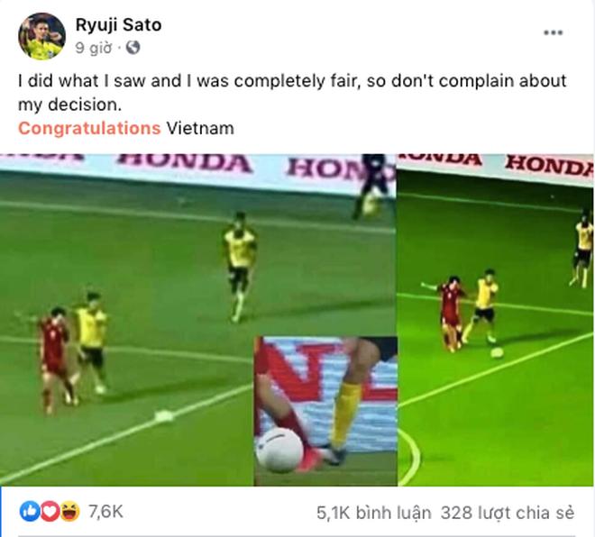 Đổi tên page bán hàng online thành tên trọng tài Nhật Bản bắt trận Việt Nam - Malaysia để hút tương tác khủng!-3