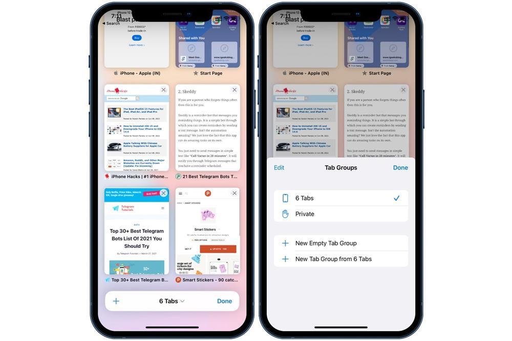 10 tính năng mới thú vị của Safari trên iOS 15 và iPadOS 15-3