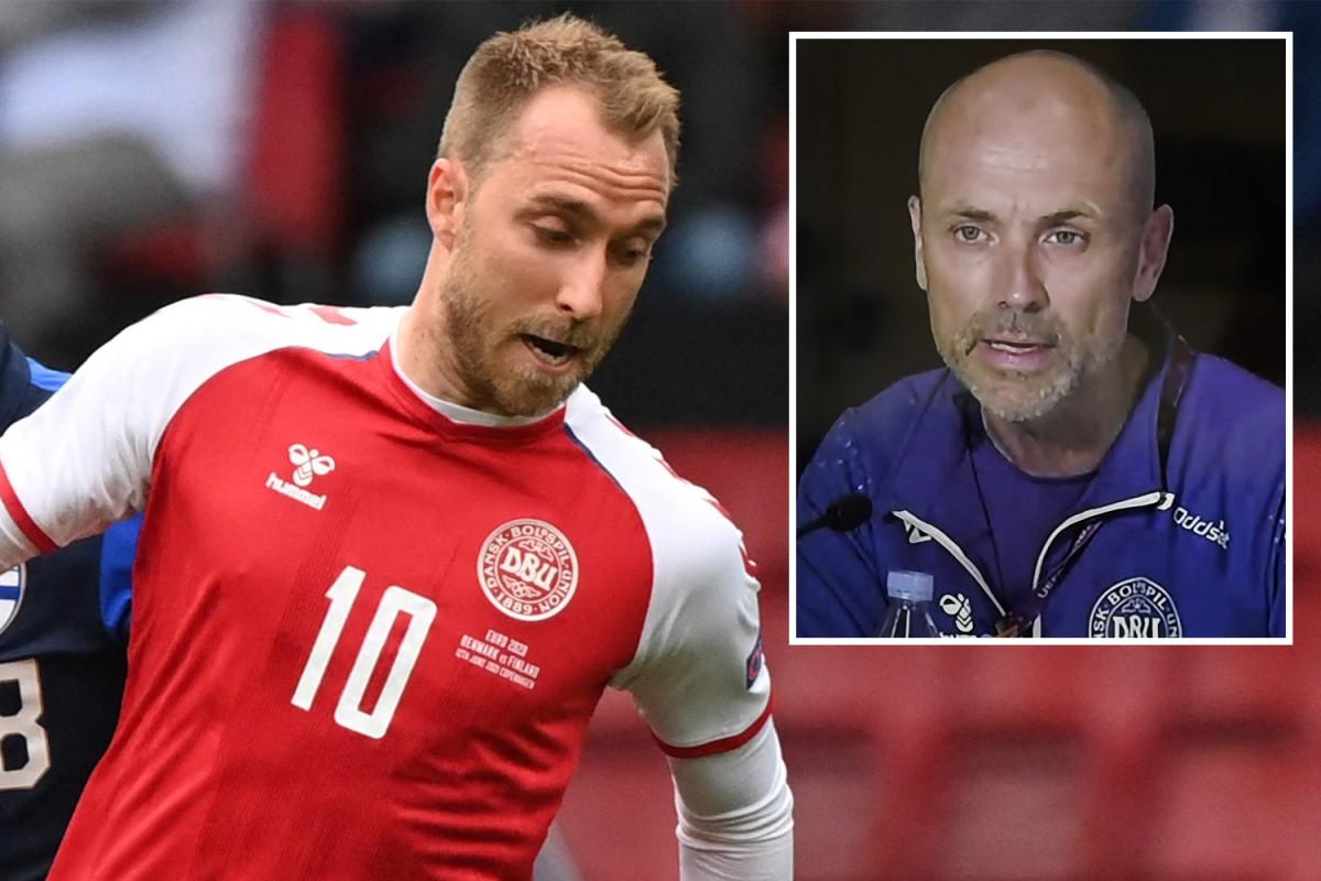 Bác sĩ Morten Boesen và đội ngũ y tế kịp thời can thiệp để cứu sống Christian Eriksen sau khi tiền vệ này bất ngờ gục xuống sân trong trận Đan Mạch gặp Phần Lan ở bảng B EURO 2021. (Ảnh: The Sun)