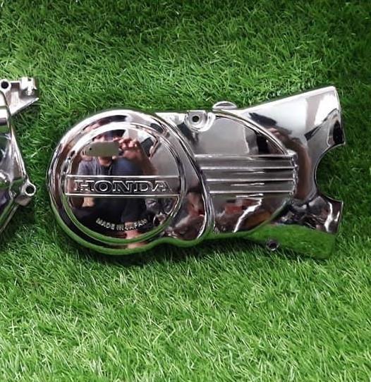 """Honda Cub C65 tuyệt đẹp được chế"""" từ khung sườn Cub 78 cũ-3"""