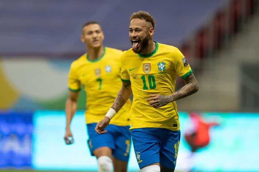 Neymar chói sáng, Brazil thắng to trận ra quân Copa America-1