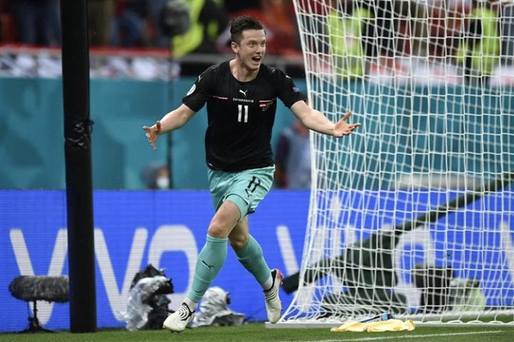 Kết quả EURO 2020:  Alaba tỏa sáng, Áo nhọc nhằn thắng Bắc Macedonia-1