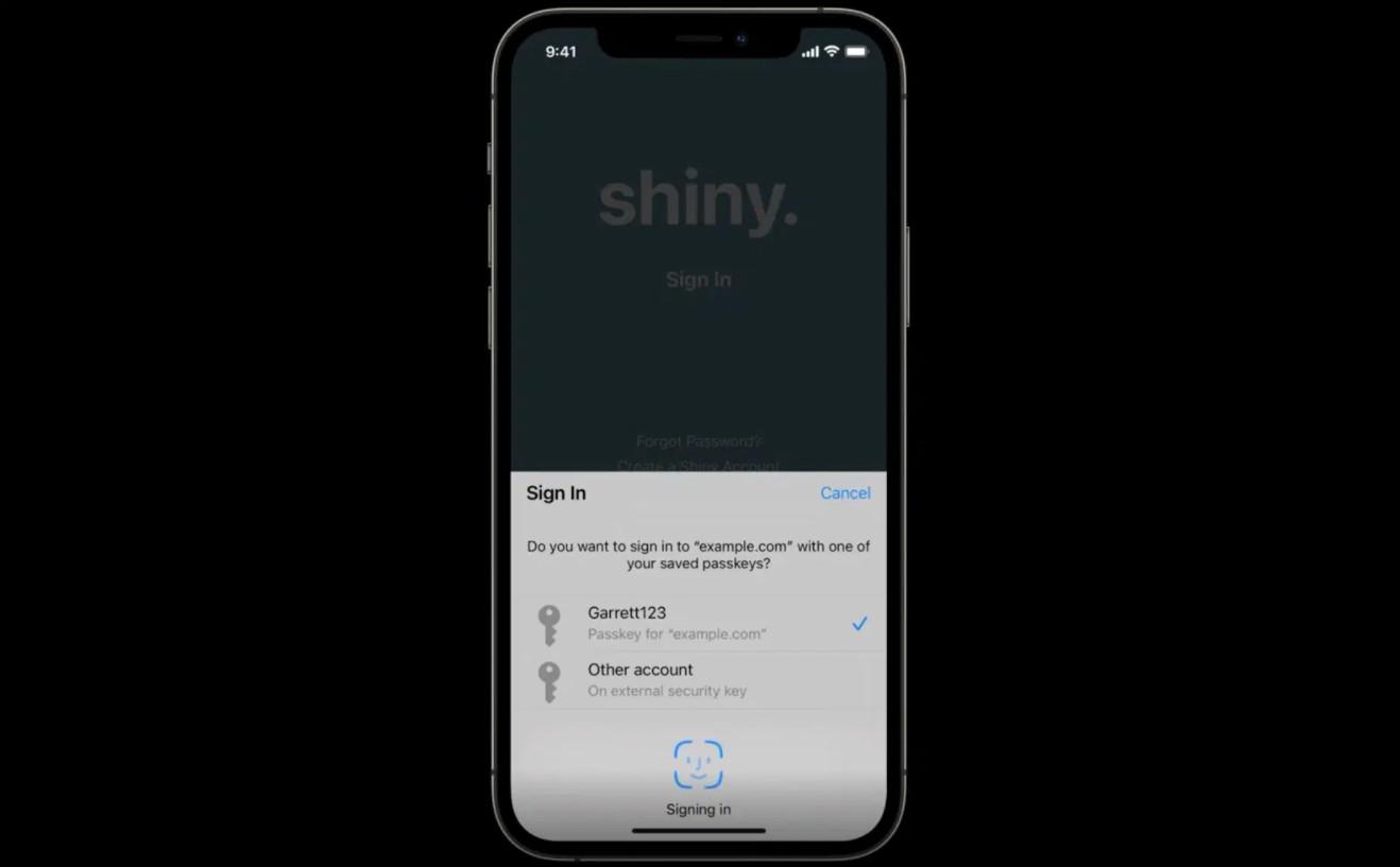 """Hệ điều hành iOS sẽ sớm khai tử"""" mật khẩu và nâng cấp tài khoản của chúng ta khó bị hack hơn-2"""