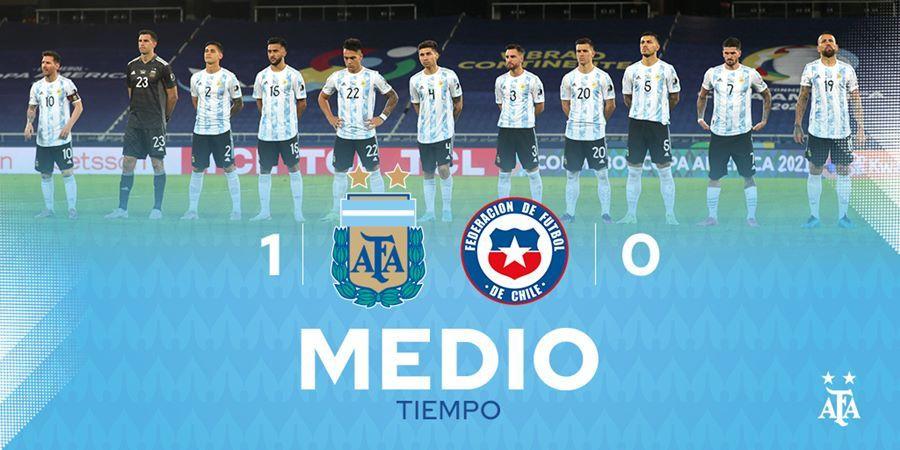 Messi vẽ siêu phẩm, Argentina vẫn tuột chiến thắng ra quân Copa-4
