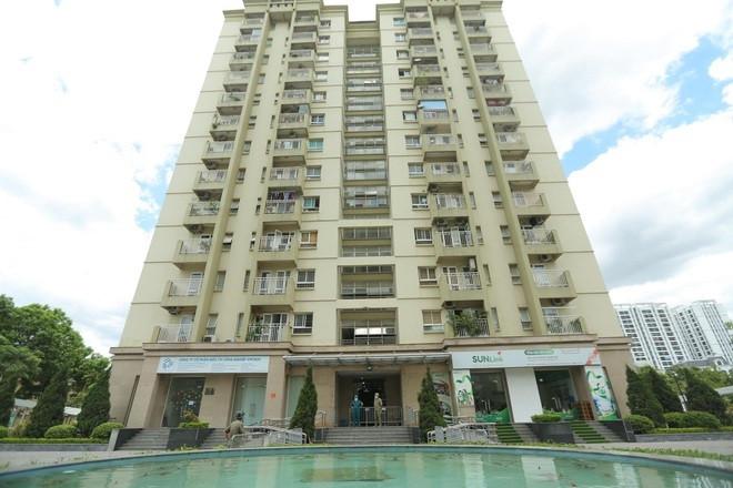 Hà Nội phong tỏa chung cư 13 tầng ở quận Long Biên-1