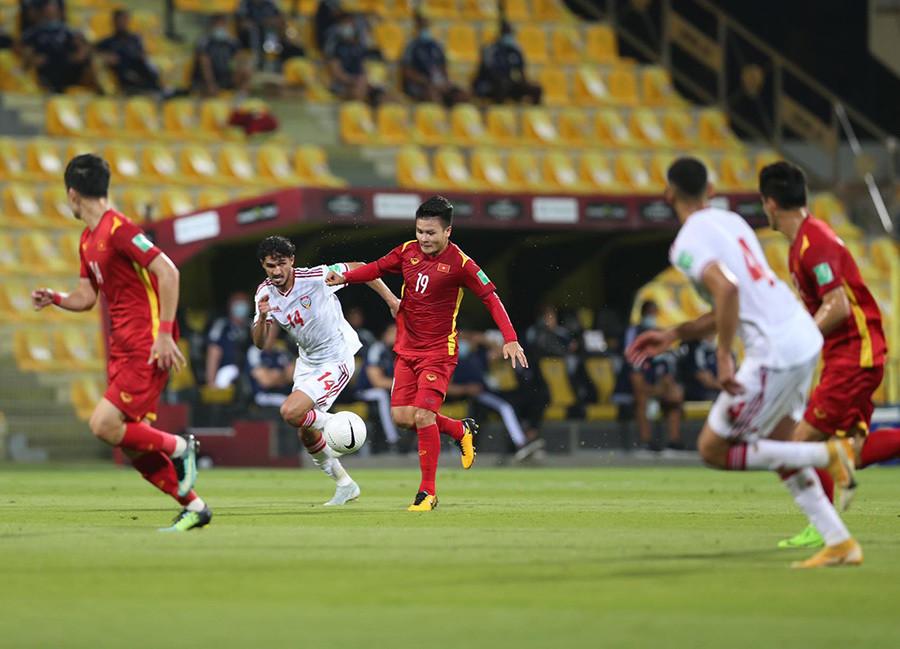 Việt Nam 2 - 3 UAE: Việt Nam chính thức giành vé đi tiếp vòng loại thứ ba-1