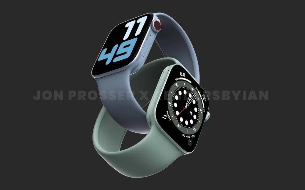 Apple Watch Series 7 sẽ có viền màn hình mỏng hơn, chip U1 nhanh hơn-1