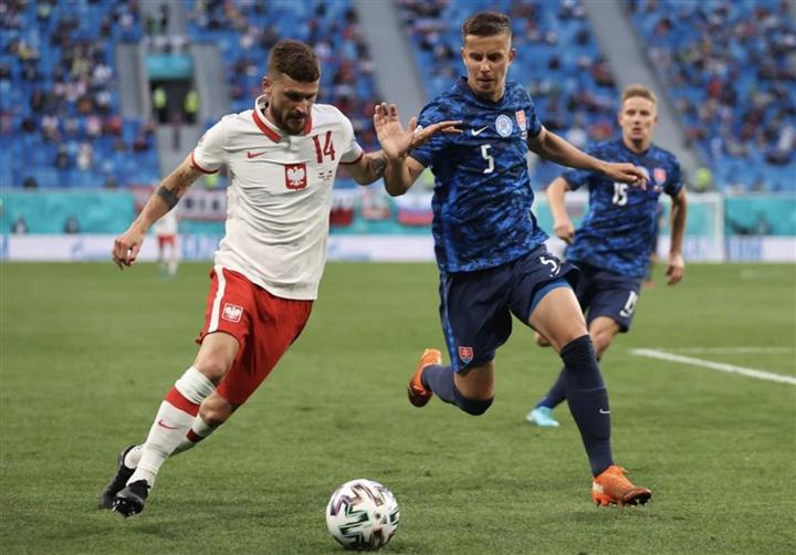 Kết quả bóng đá EURO: Lewandowski tịt ngòi, Ba Lan thua đau trước Slovakia-1