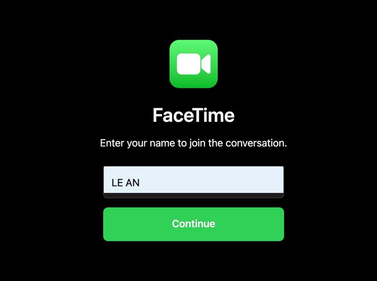 Cách mời người dùng Android, Windows và Linux tham gia cuộc gọi FaceTime-4