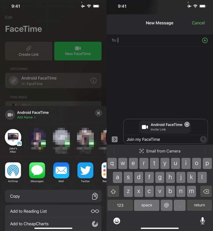 Cách mời người dùng Android, Windows và Linux tham gia cuộc gọi FaceTime-3