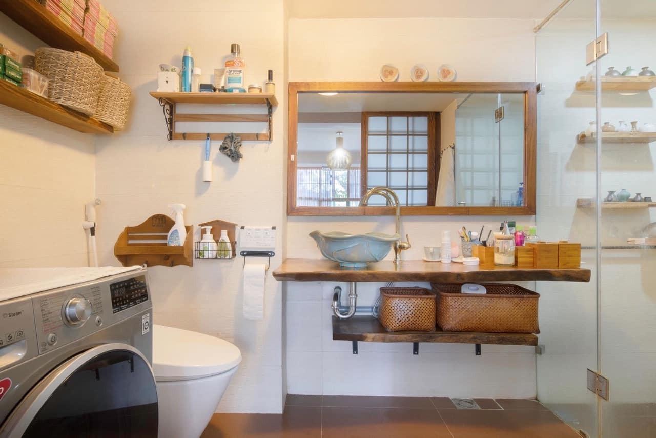Nhà tập thể cũ lột xác không tưởng với phong cách Nhật Bản-17