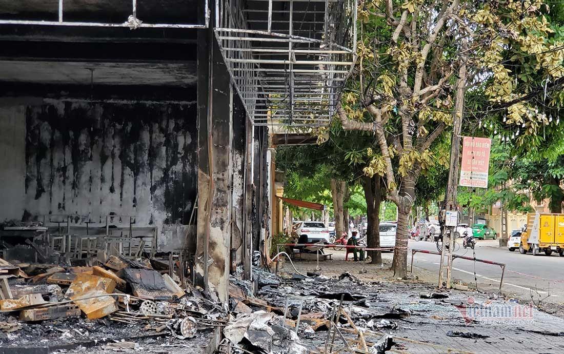 Cả gia đình chủ phòng trà ở Nghệ An tử vong trong vụ cháy-2