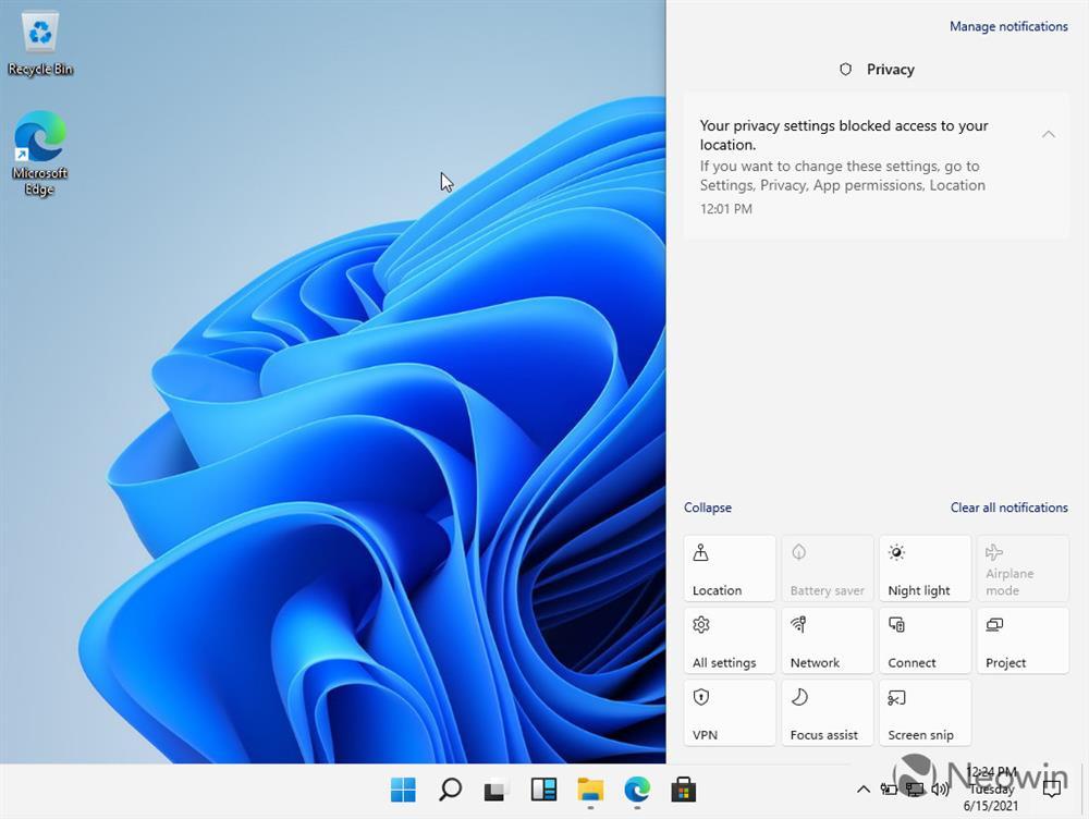 Đây là Windows 11 với giao diện hoàn toàn mới-11