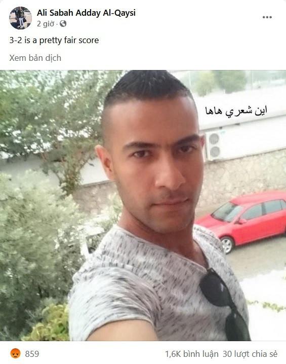 Dân mạng Việt đua nhau làm giả trang Facebook trọng tài chính người Iraq-4