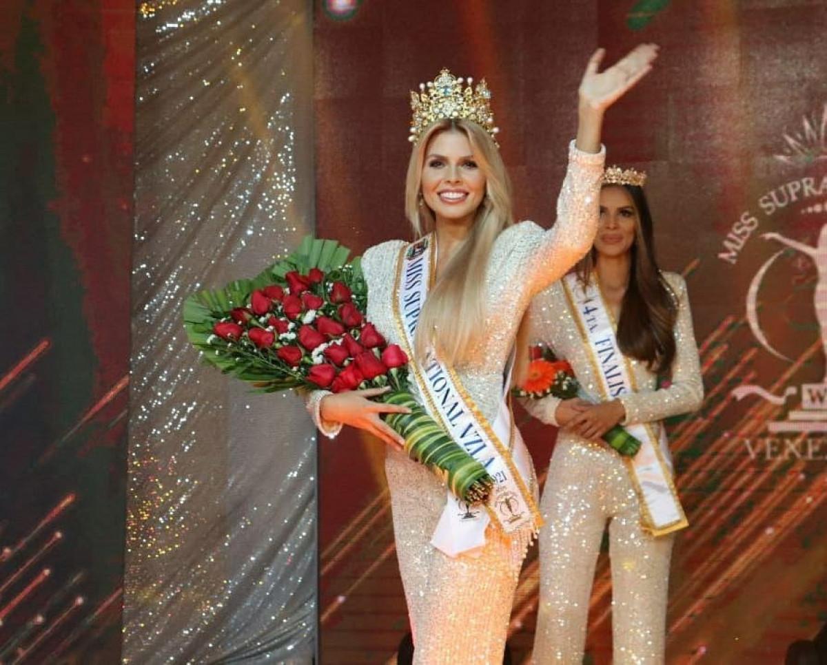 Vẻ đẹp kiêu sa, nóng bỏng của Hoa hậu Siêu quốc gia Venezuela-2