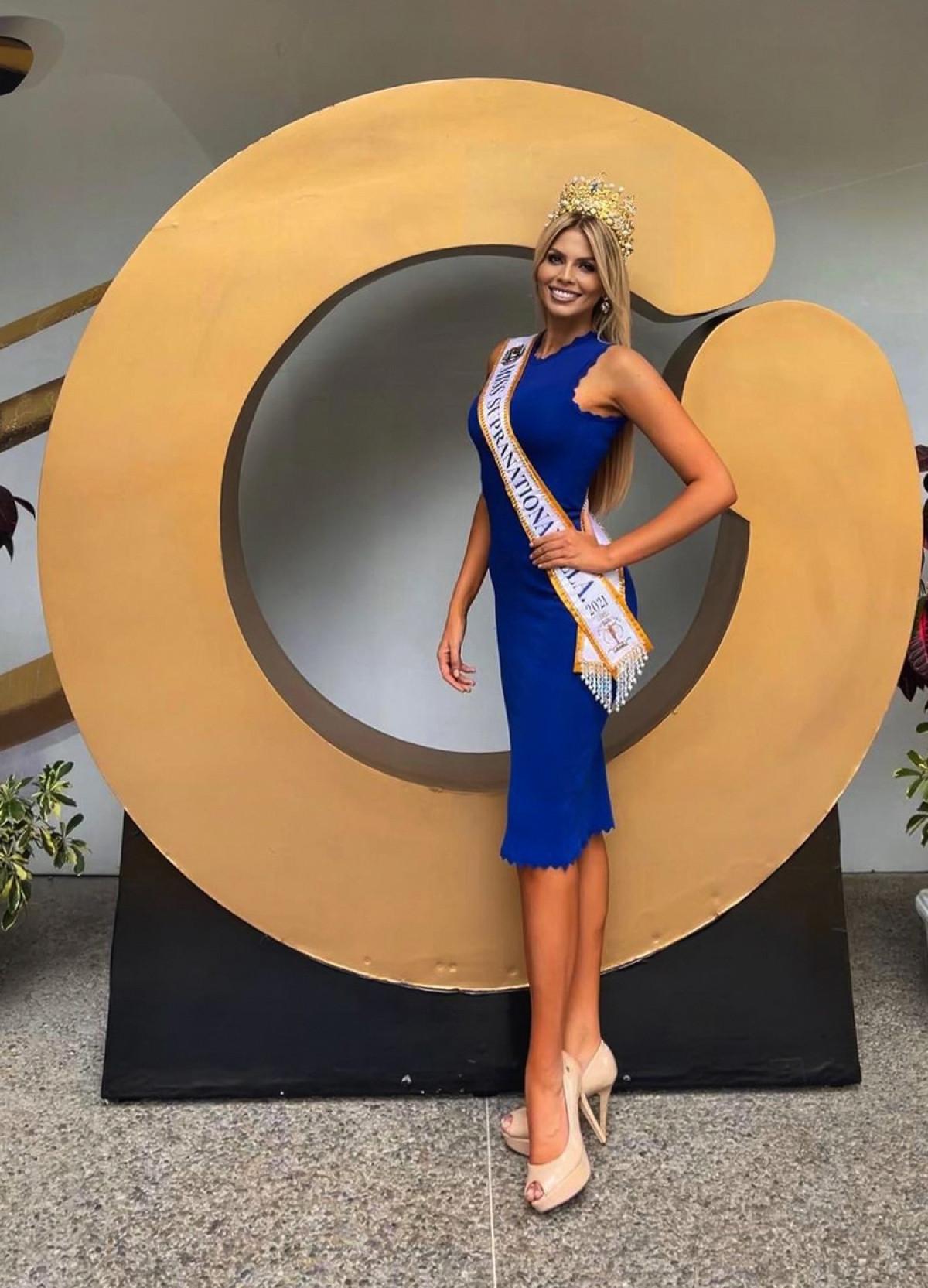 Vẻ đẹp kiêu sa, nóng bỏng của Hoa hậu Siêu quốc gia Venezuela-6
