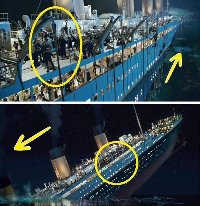 Khán giả bóc 7 lỗi sai của  siêu phẩm điện ảnh Titanic-6