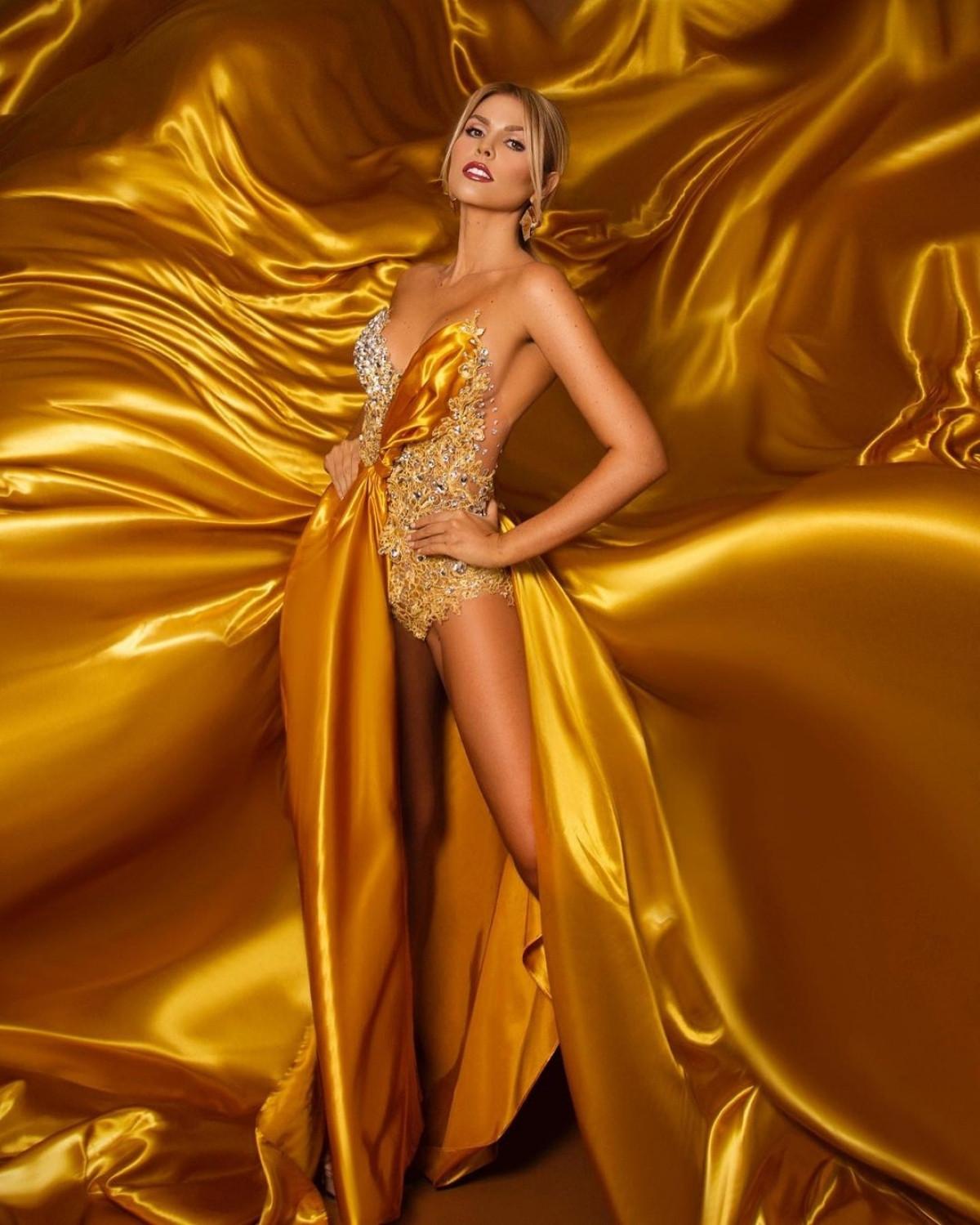 Vẻ đẹp kiêu sa, nóng bỏng của Hoa hậu Siêu quốc gia Venezuela-5