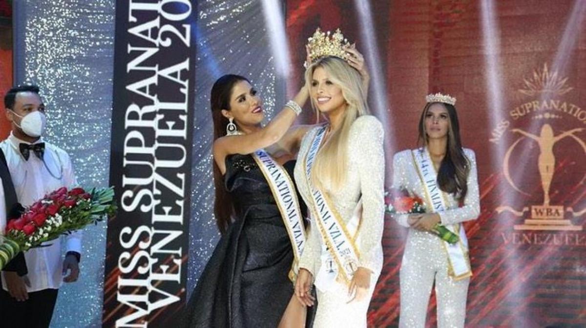 Vẻ đẹp kiêu sa, nóng bỏng của Hoa hậu Siêu quốc gia Venezuela-1
