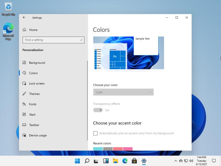 Đây là Windows 11 với giao diện hoàn toàn mới-12